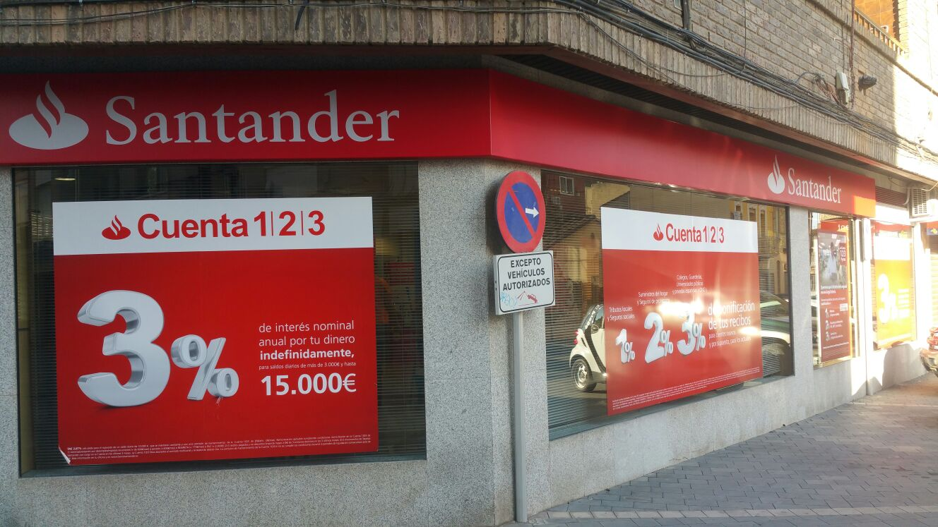 Pintura for Oficinas banco santander zaragoza capital